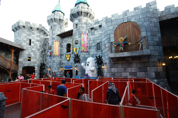 Lord Vampyre's Maze Picture Credit: Legoland Malaysia
