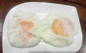 This was sent to me in Helper's A excitement to share she made poached eggs