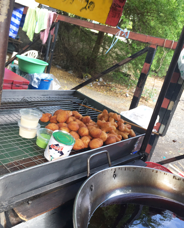 Dough fritters for 20 baht