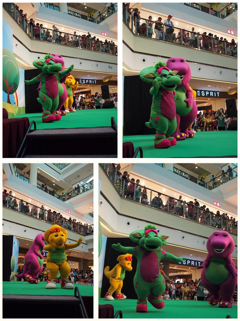 Meeting Barney Friends Motherkao
