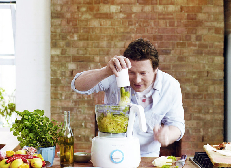 Rockin' the kitchen with the all new Philips Jamie Oliver Food ...