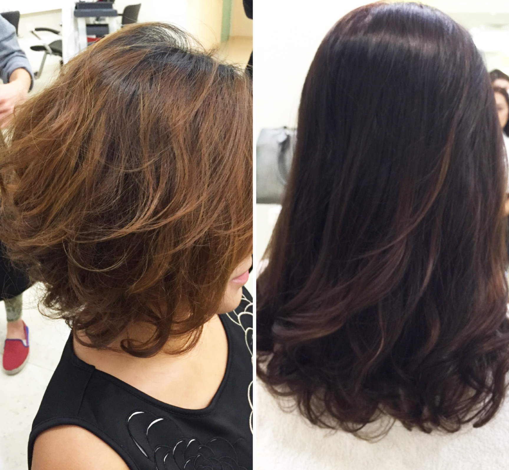 New year old perm and magic review of mosche hair for Act point salon review